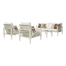 Senter 4 Piece Seating Set with Cushion