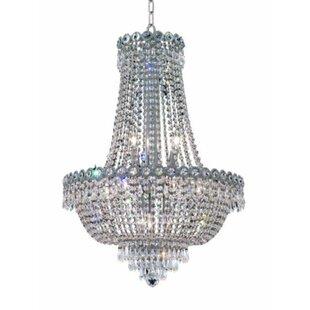 Rosdorf Park Lorna Glam 12-Light Empire Chandelier