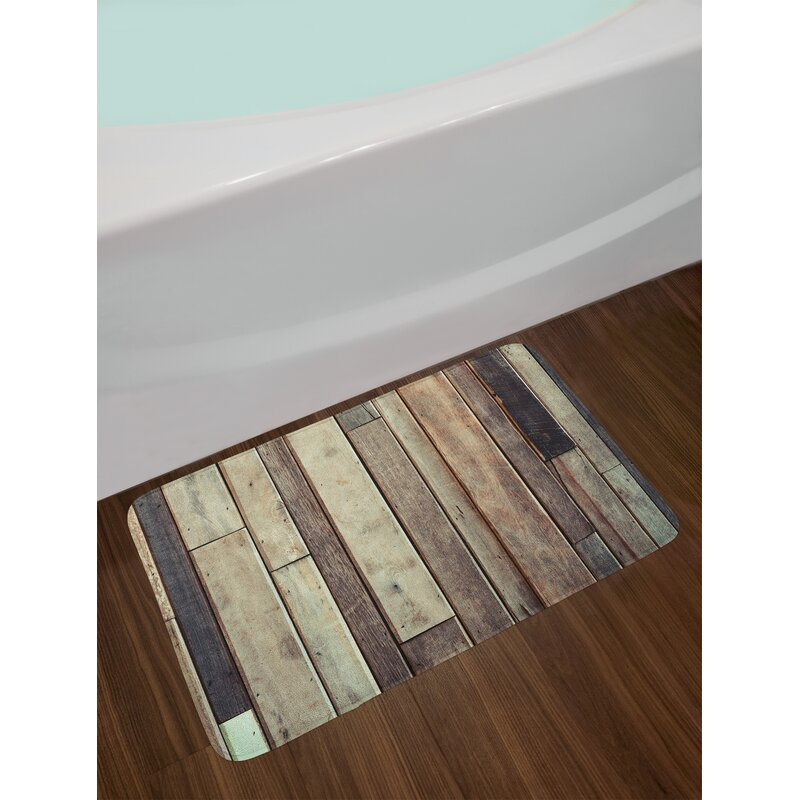 East Urban Home Wooden Antique Planks Flooring Wall Picture American