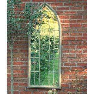 Gothic Arches Window Mirror