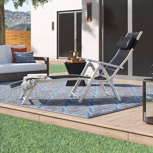 Alverta Patio Reclining Chaise Lounge