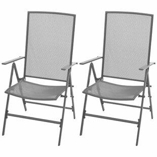 Axel Reclining Garden Chair Set Of 2