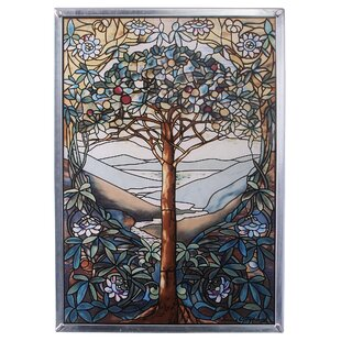 Tree Of Life Art Glass Wall Décor