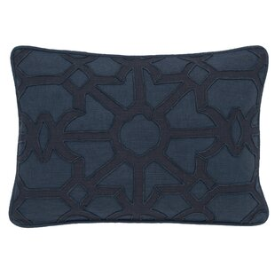 Jose Printed Cotton Lumbar Pillow