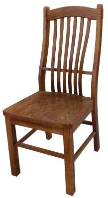Chelsea Home Solid Wood Windsor Back Side Chair