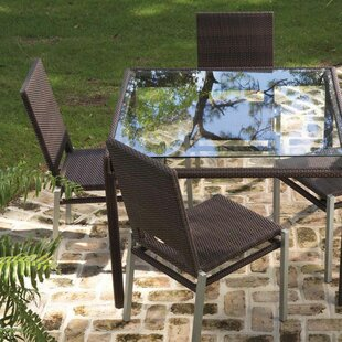 All-Weather Pacific Stacking Patio Dining Chair