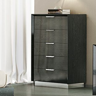 Orren Ellis Arushi 5 Drawer Chest