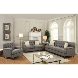 Canora Grey Oakes Configurable Sofa Set