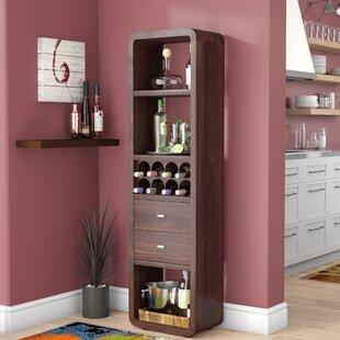 Wrought Studio Port Augusta Transitional Bar with Wine Storage