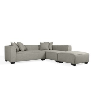 Modern & Contemporary Wedge Corner Sectional | AllModern