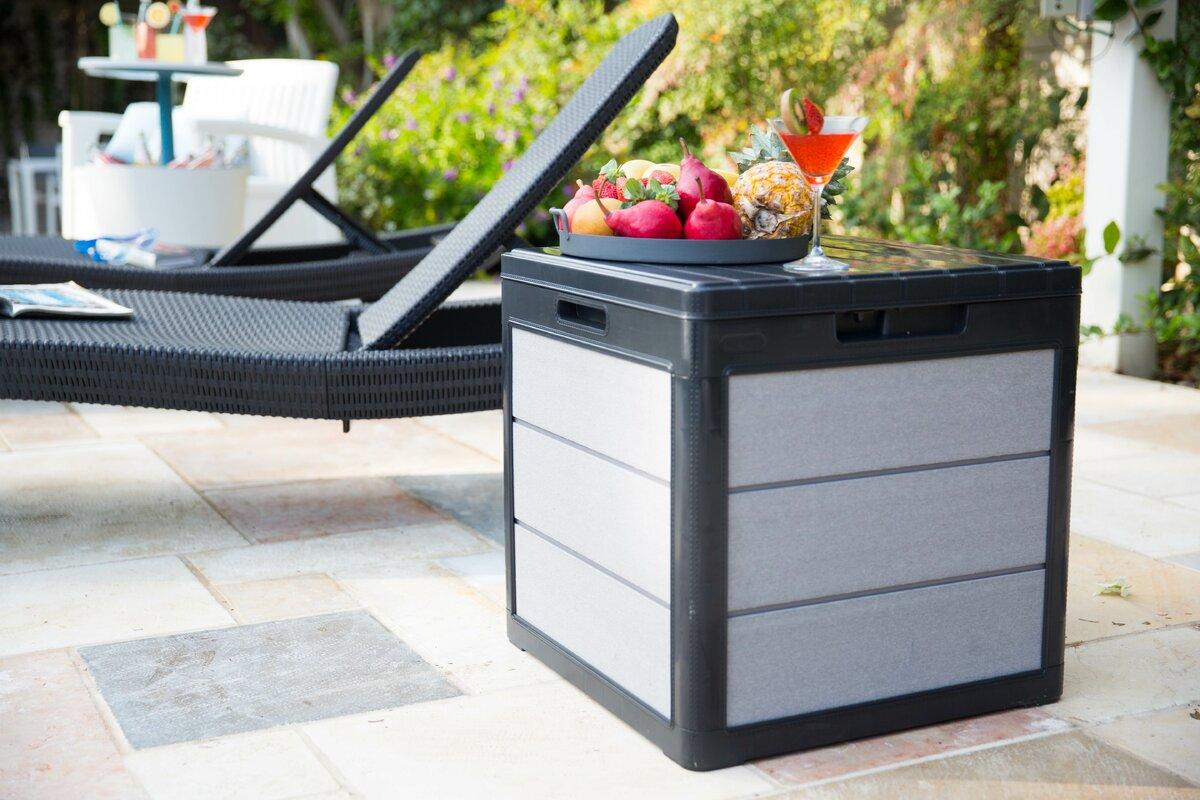 Ebern Designs Minonk 30 Gallons Deck Box
