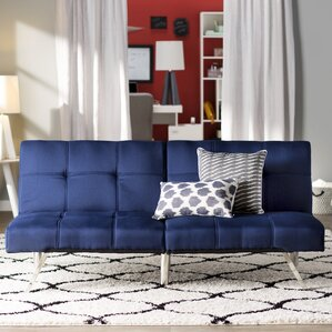 Piper Upholstered Convertible Sofa by Zipcode Design