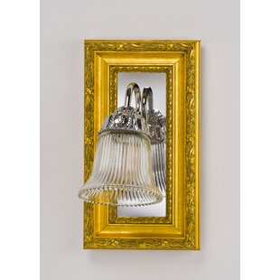 Inexpensive Eagle Bevel Wall Mirror ByCharlton Home