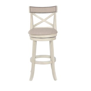 Gracie Oaks Katara 29 Swivel Bar Stool