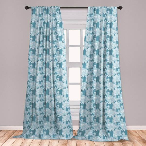 Nursery Elephant Curtains Wayfair
