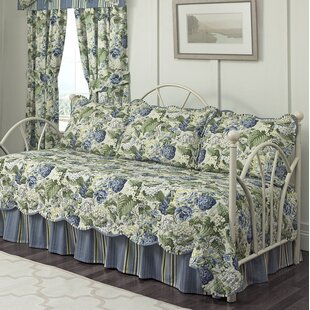 Floral Flourish 5 Piece Reversible Quilt Set