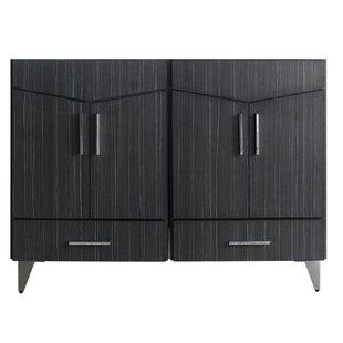 Dorazio 48 Double Bathroom Vanity Base Only by Brayden Studio