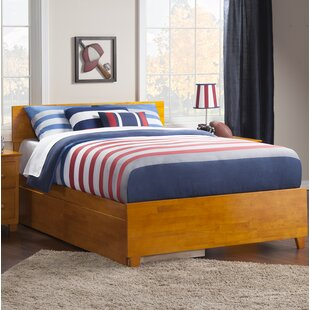 Mathias Storage Platform Bed