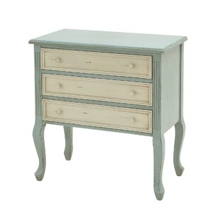 Cole & Grey 3 Drawer Accent Chest