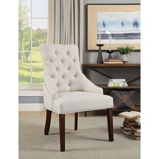 Burmeister Upholstered Dining Chair (Set of 2) Gracie Oaks