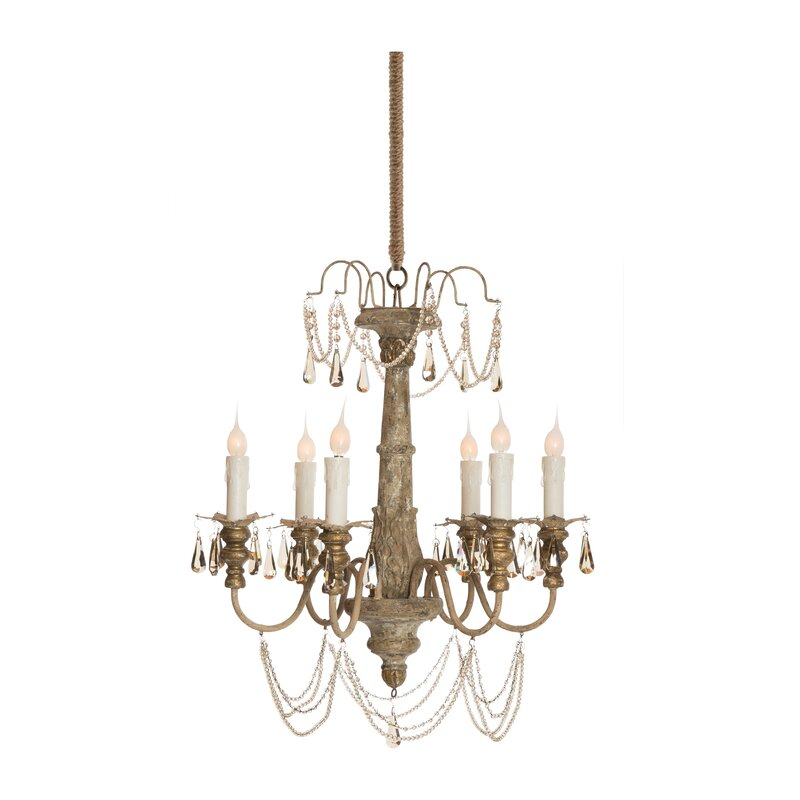 Forli 6-Light Chandelier