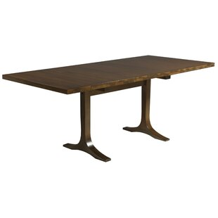 Paxton Extendable Solid Wood Dining Table Saloom Furniture