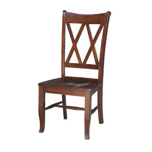 Hilltop Solid Wood Dining Chair (Set of 2) by Darby Home Co