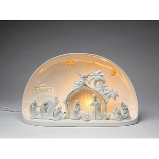 Cosmos Gifts Nativity Scene Dome Night Light