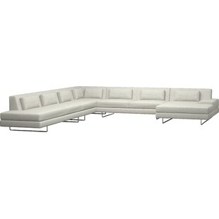 Hamlin XL Corner Sectional with Chaise by TrueModern