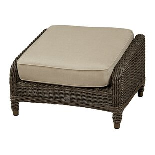 Wildon Home ® Ottoman with Cushion