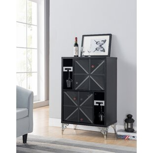 Tellis Wine Bar Cabinet