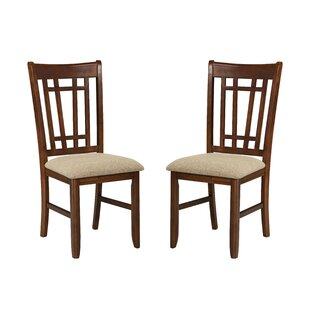 Top Reviews Whisman Lattice Back Side Chair (Set of 2) by Millwood Pines Reviews (2019) & Buyer's Guide
