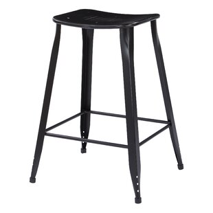 Kuhlman 26 Bar Stool (Set of 2) Wrought Studio