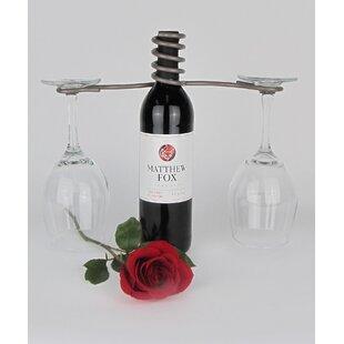 Metrotex Designs French Vineyard 1 Bottle Tabletop Wine Rack