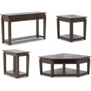 Django 4 Piece Coffee Table Set Latitude Run