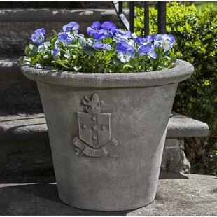 Campania International Regent Cast Stone Pot Planter