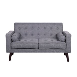 Gray Tufted Sofas + Couches