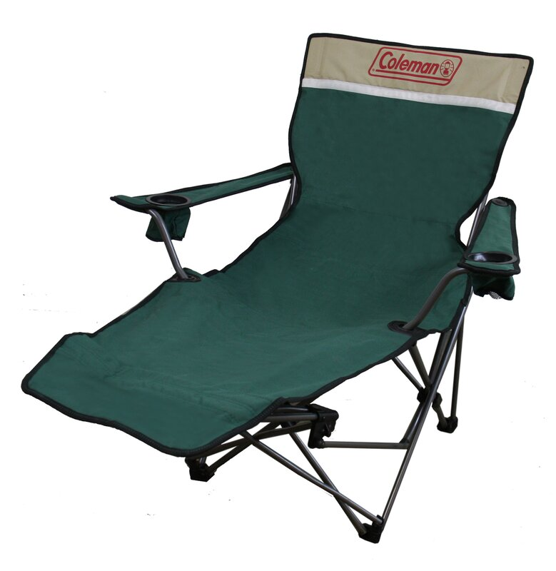 Portable Lounge Reclining C&ing Chair with Cushion  sc 1 st  Wayfair & ORE Furniture Portable Lounge Reclining Camping Chair with Cushion ... islam-shia.org