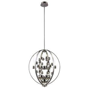 Manjiri 1-Light Globe Pendant by Orren Ellis