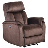 Azhaar Faux Leather Power Recliner by Latitude Run®