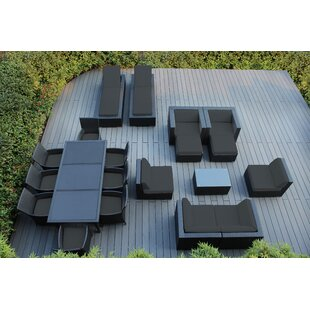 Bartol 20 Piece Complete Patio Set with Cushions by Orren Ellis
