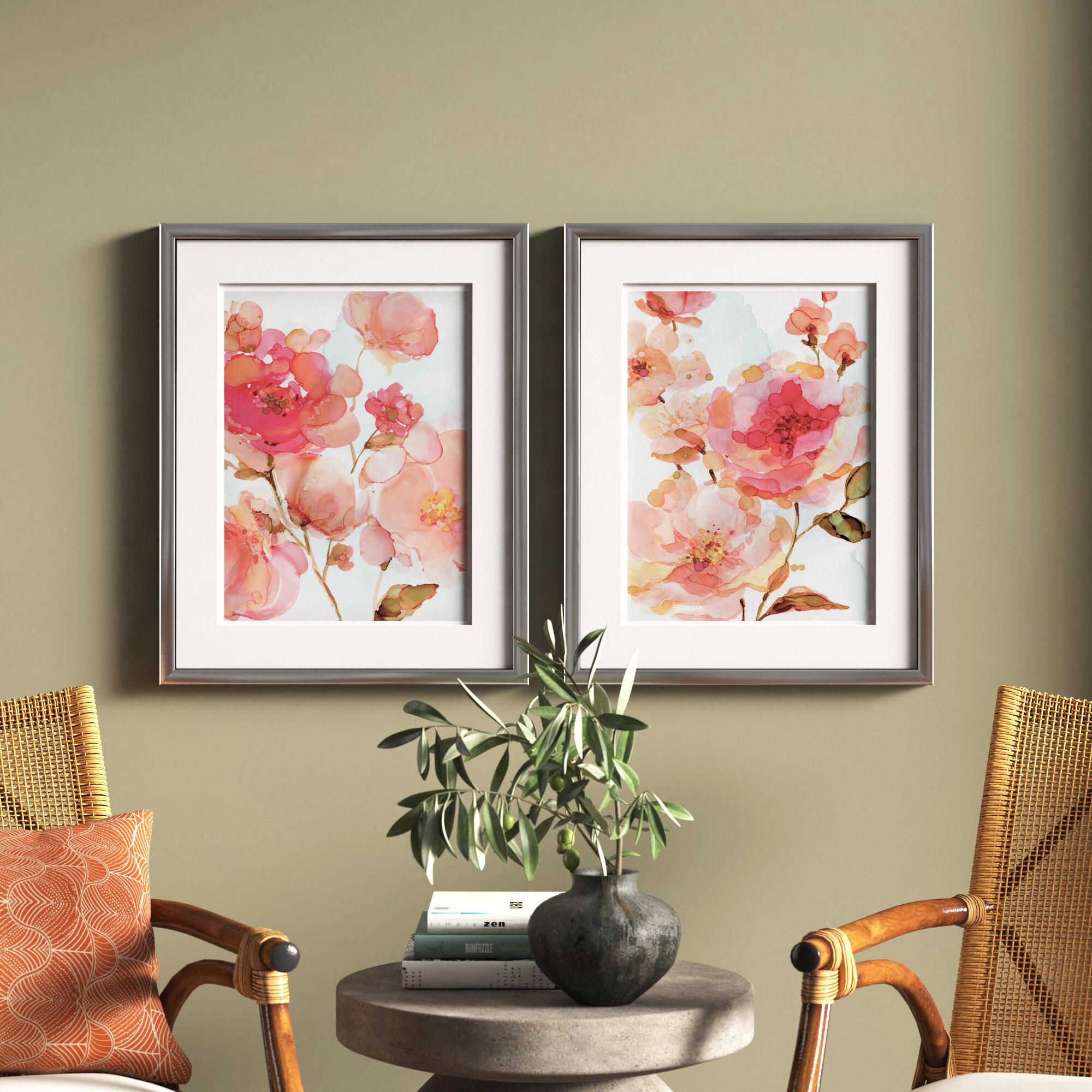 Vivid Peies 2 Piece Picture Frame Set Print Set On Paper Reviews Joss Main