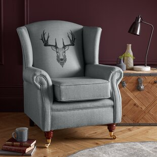 Kelly Wingback Chair By Alpen Home