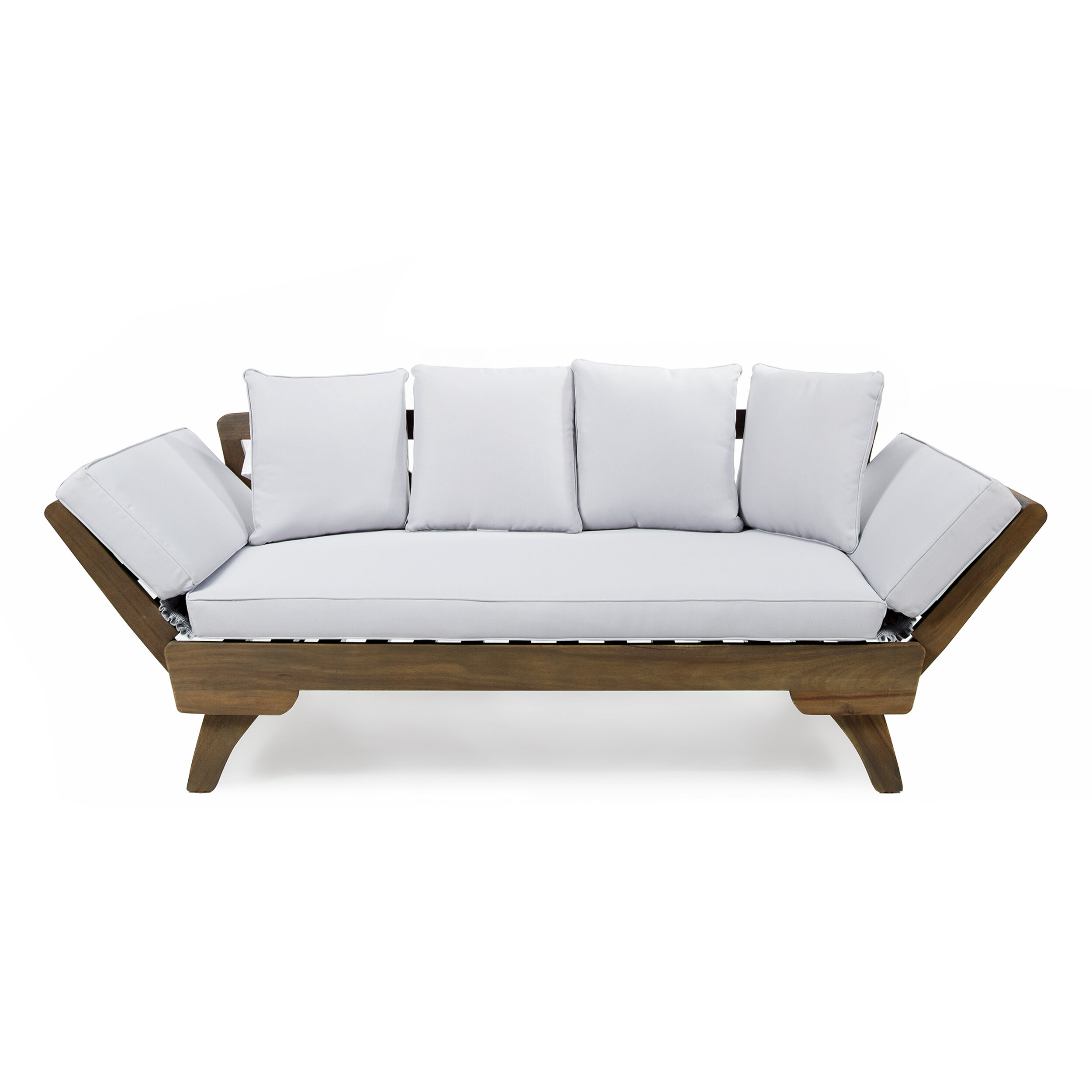 Ellanti patio daybed with cushions reviews allmodern