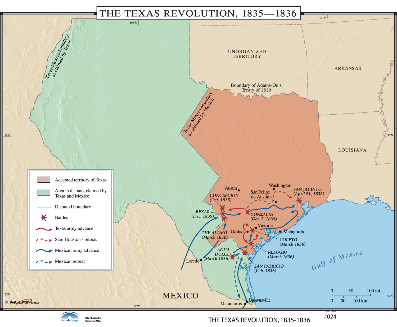 3 Sizes Wide World *TEXAS* USA Physical//Political Wall Map ...Laminated