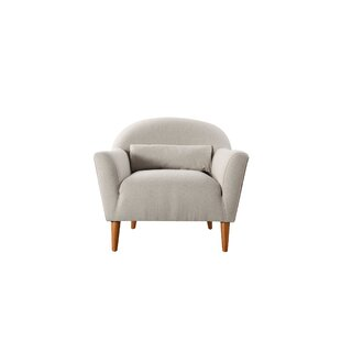 Mach Recessed Barrel Chair by Union Rustic