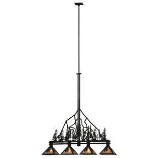 4-Light Pendant by Meyda Tiffany