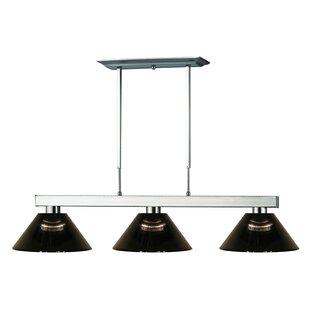 Ebern Designs Molden 3-Light Pool Table Light Pendant