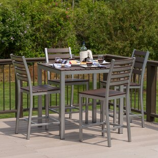 Elan Furniture Loft 5 Piece Bar Height Dining Set