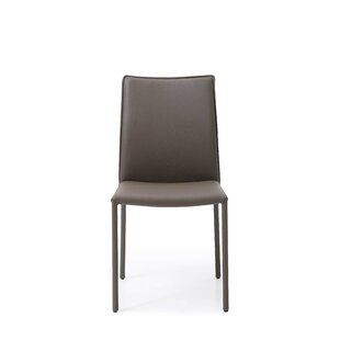 Nieto Genuine Leather Upholstered Dining ..